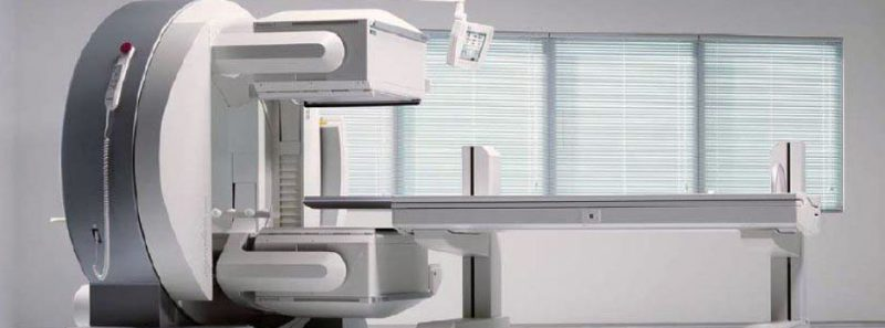 machine for nuclear medicine testing at Premier Diagnostic Imaging in Cookeville, TN